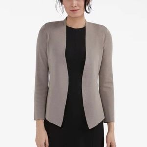 MM LaFleur The Woolf Jardigan Knit Cardigan Taupe